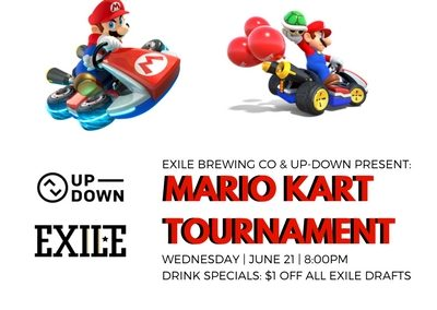 Exile Brewing Mario Kart Tournament