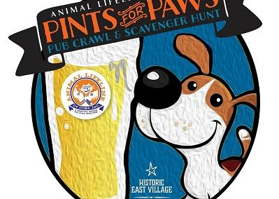 Pints for Paws Pub Crawl and Scavenger Hunt