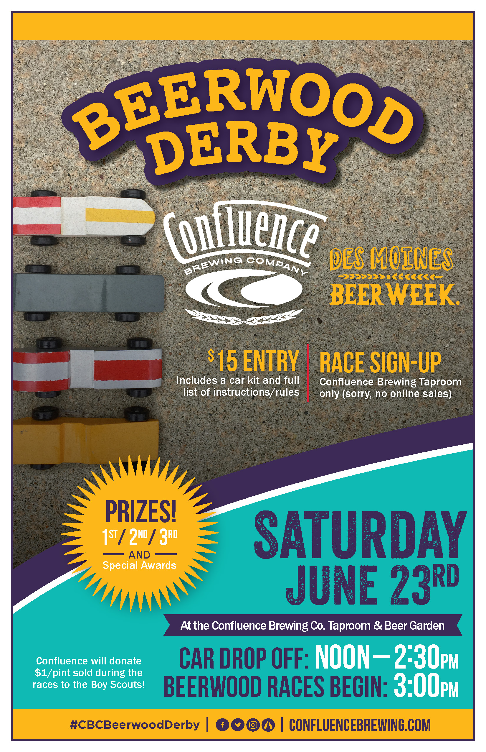 Confluence Beerwood Derby