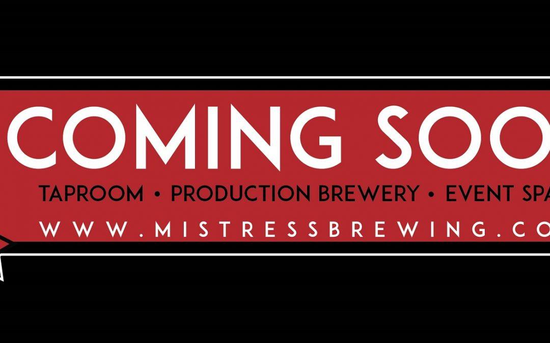 Meet Our Sponsor – Mistress Brewing Co.