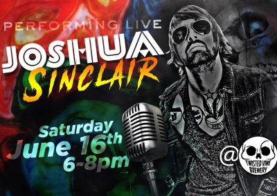 Live Music with Joshua Sinclair