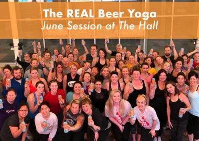 REAL Beer Yoga with SingleSpeed Brewing
