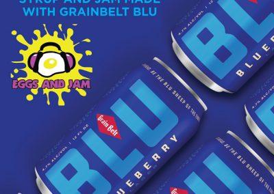Grainbelt Blu Breakfast
