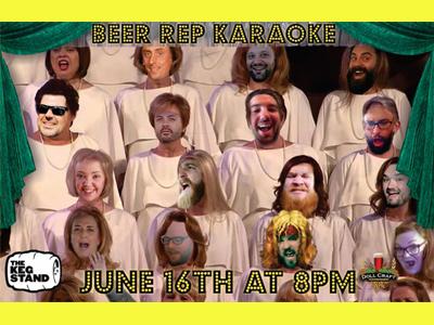 Beer Rep Karaoke @ The Keg Stand