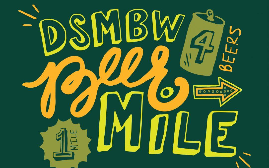 2017 DSMBW Kickoff & Beer Mile – El Bait Shop