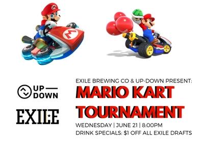 Exile Brewing Mario Kart Tournament
