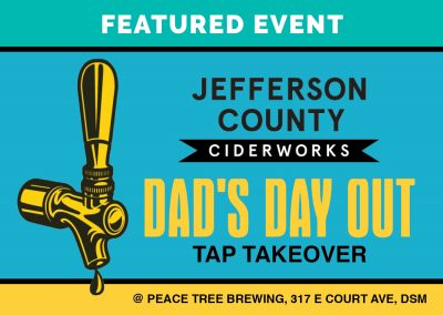 Dad's Day JeffCo Tap Takeover at Peace Tree