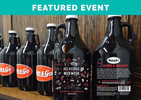 Kum & Go Exclusive Growler Release