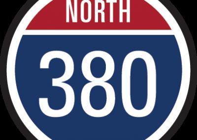 380 N / 380 S
