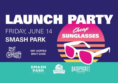 Cheap Sunglasses Launch Party
