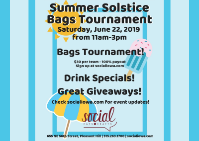 Summer Solstice Bags Tournament