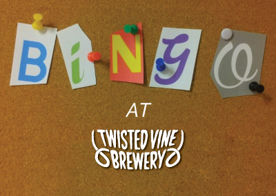 Bingo at Twisted Vine