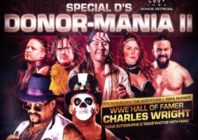 Special D's DonorMania II Live