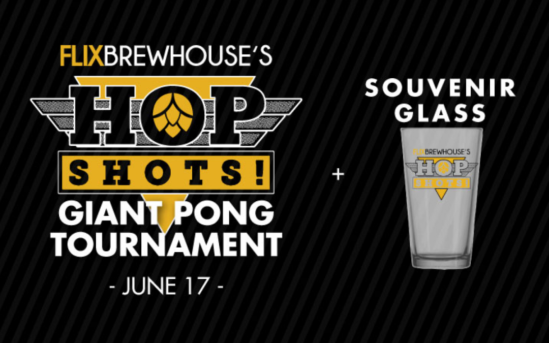 Hop Shots! Giant Pong Tournament