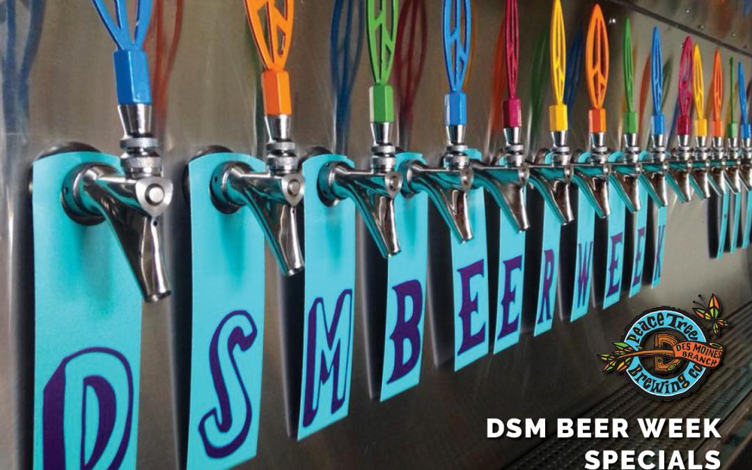 DSM Beer Week Specials